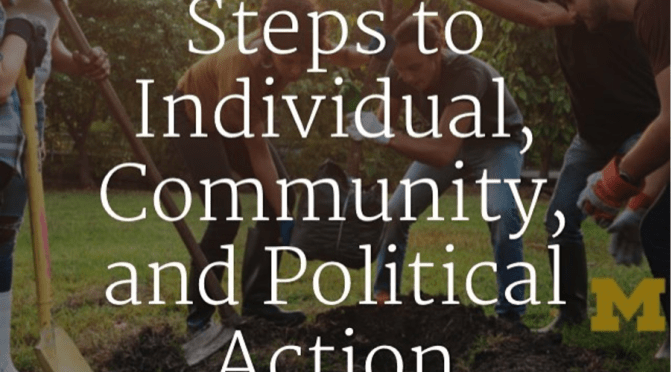 Act on Climate: Steps to Individual, Community, and Political Action