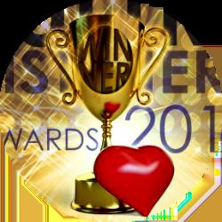 2013 audibooks award button gold - Hot Listens_n