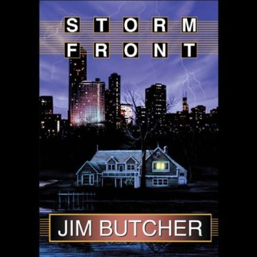 Storm Front Audiobook Cover