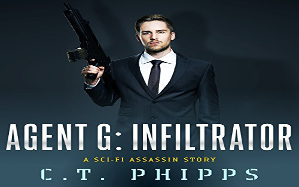 Agent G: Infiltrator Audiobook by C.T. Phipps (REVIEW)