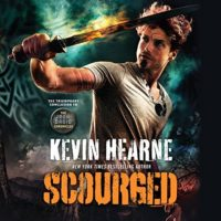 Scourged (The Iron Druid Chronicles #9) by Kevin Hearne read by Luke Daniels