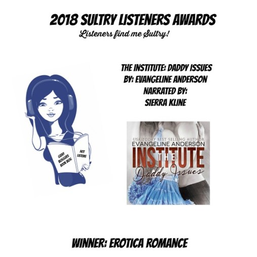 #SultryListeners Awards Winner 2018 – Erotica
