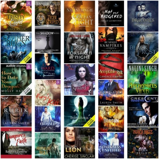 #SultryListeners Awards Semi-Finals 2018 – Paranormal Romance