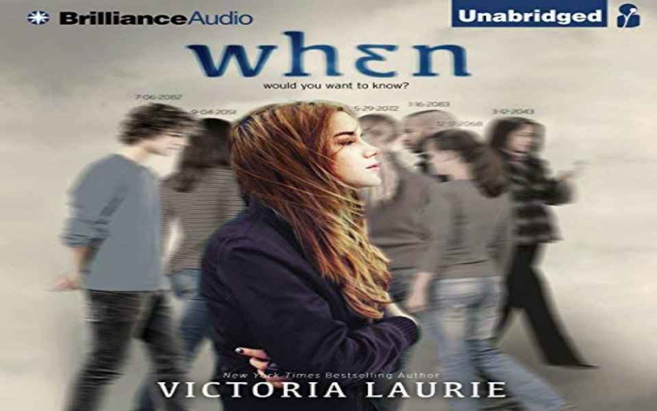 WHEN Audiobook by Victoria Laurie (Review)