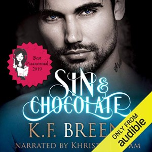 Sultry Listeners 2019 Best PNR - Sin & Chocolate (Demigods of San Francisco #1) by K.F. Breene performed by Khristine Hvam