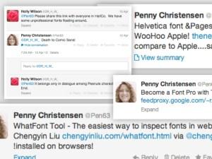 Fonts Tweet COmpilation