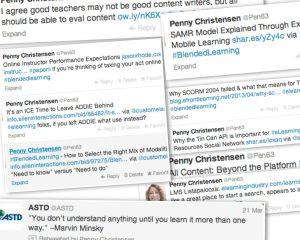 LMS Content Creation Tweet Collage