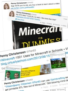 Minecraft Tweet Collage