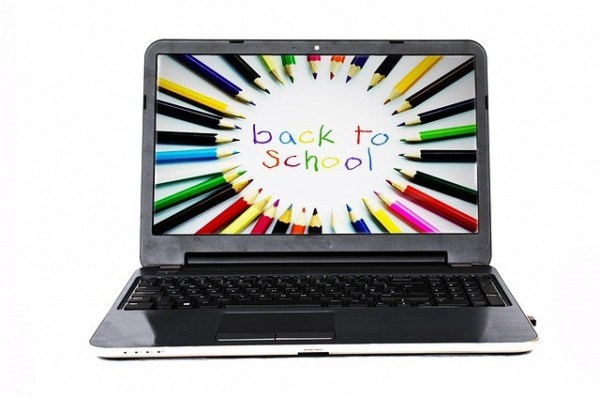 Back to school laptop