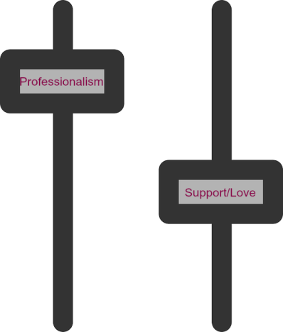 Professionalism Support Love