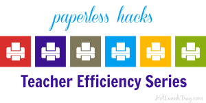Teacher Efficiency Series PAPERLESS