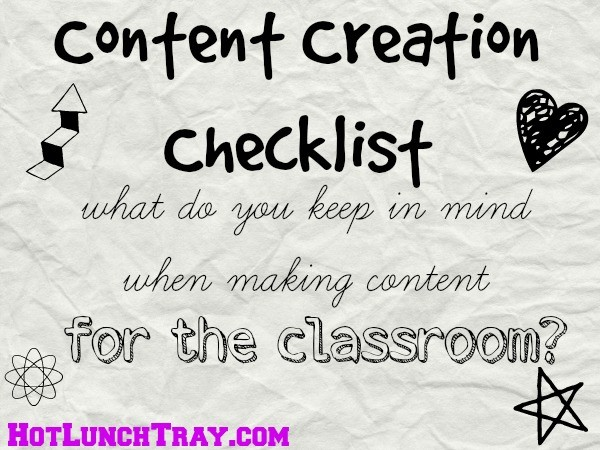Content Creation Checklist