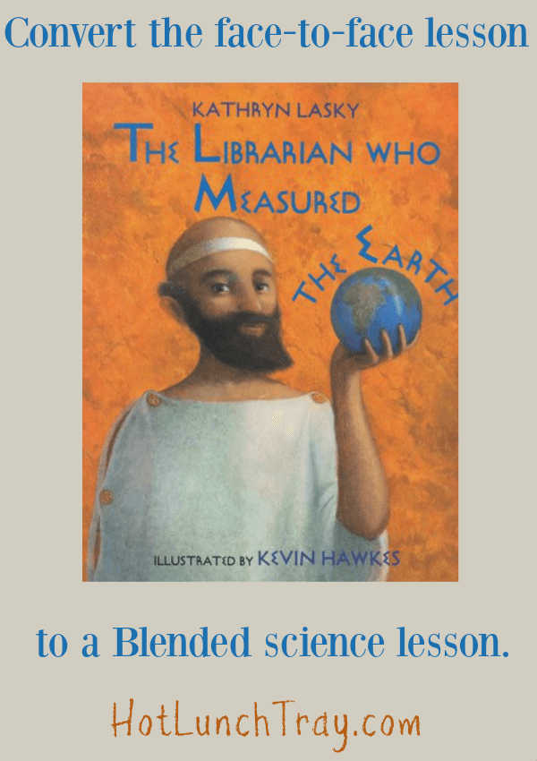 Convert Librarian Blended Learning Module Eratosthenes to blended lesson