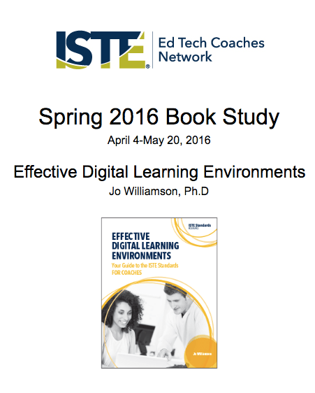 ISTE Spring 2016 Book Study