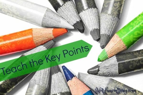teach key points