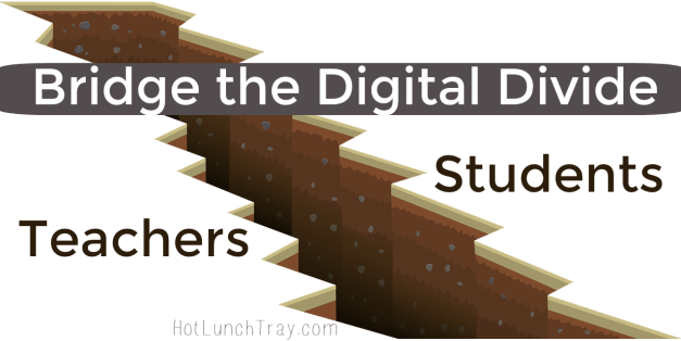 Digital Divide Teachers and Students LG
