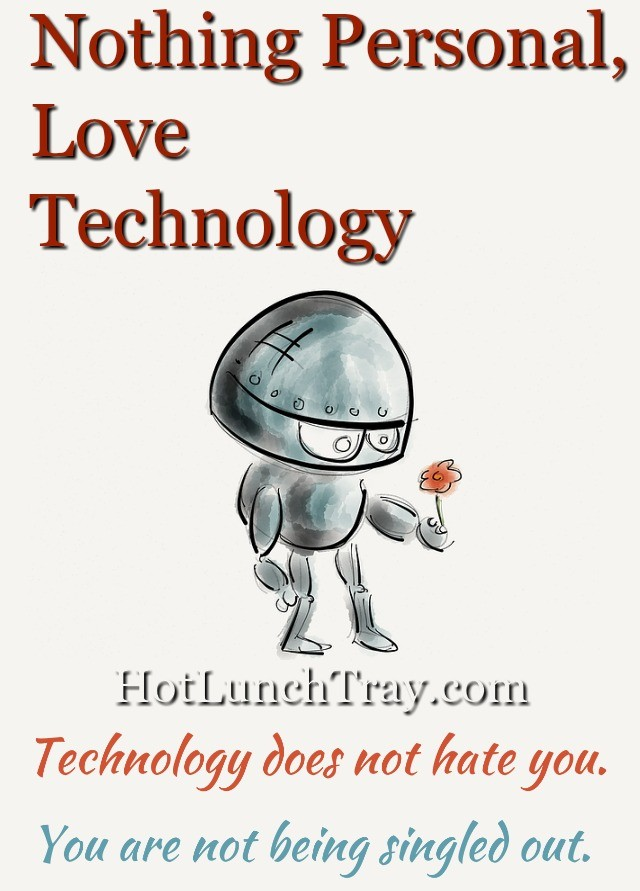 nothing personal love technology small