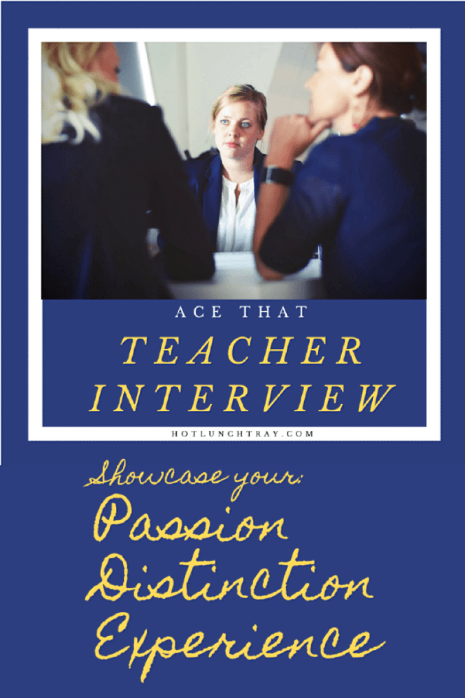 Teacher Interview Pin