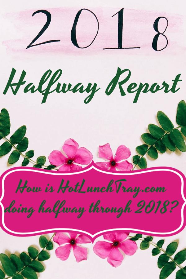 2018 Halfway report Pin