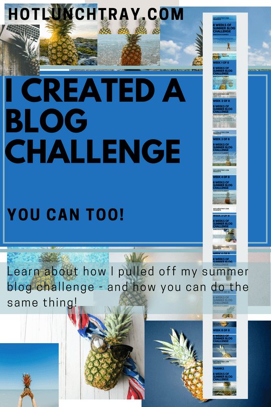 I Created A Blog Challenge Pin