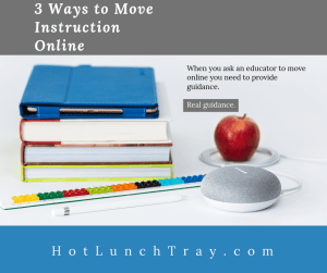 3 ways to move instruction online FB
