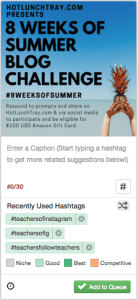 Tailwind Suggests Instagram Hashtags