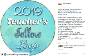 Instagram Teacher Follow Loop
