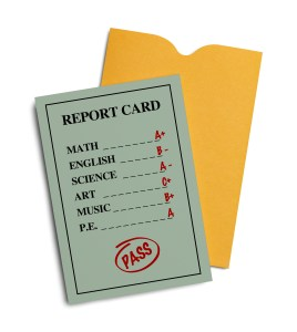 Report Card Opened