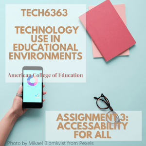 Tech6363 Tech Use in Edu Environments Posts