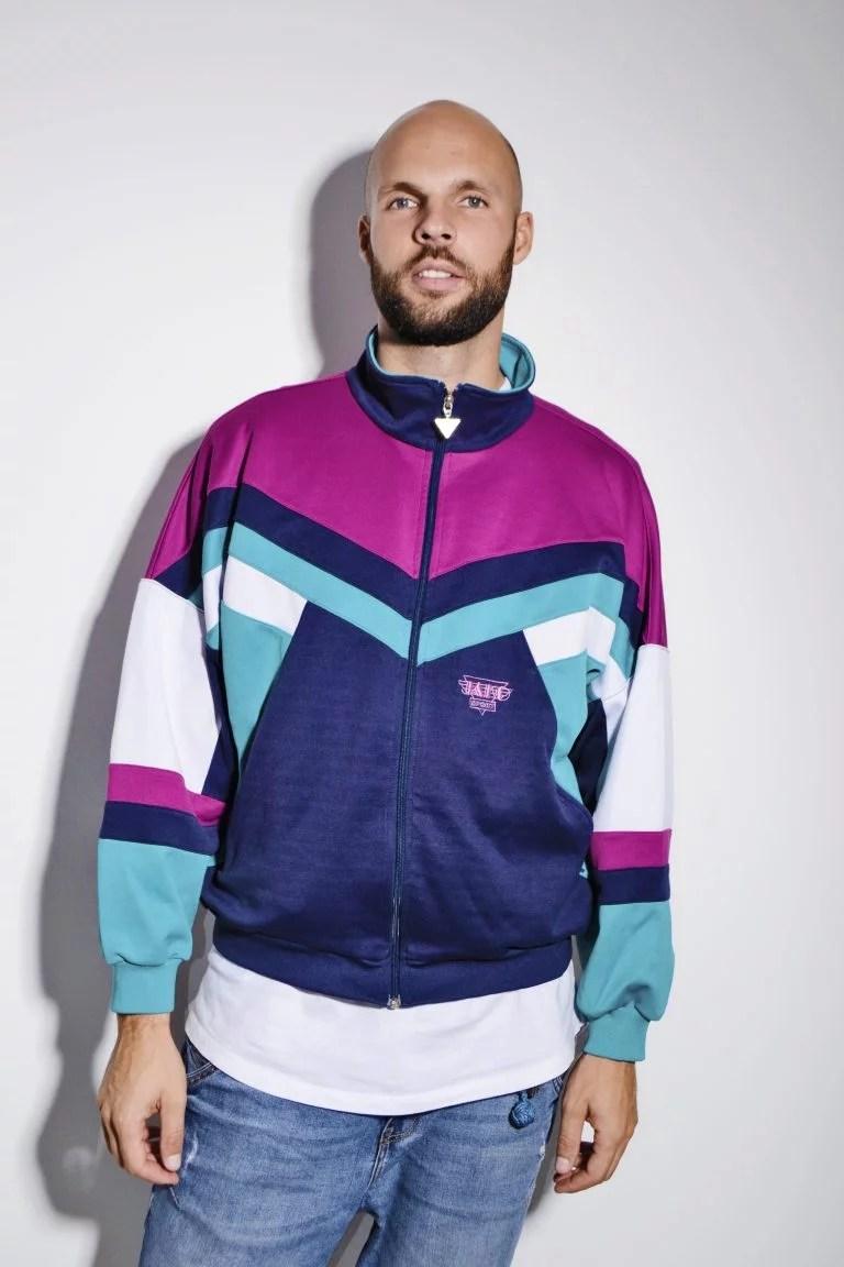 80s Old School track jacket for men | HOT MILK vintage clothing online