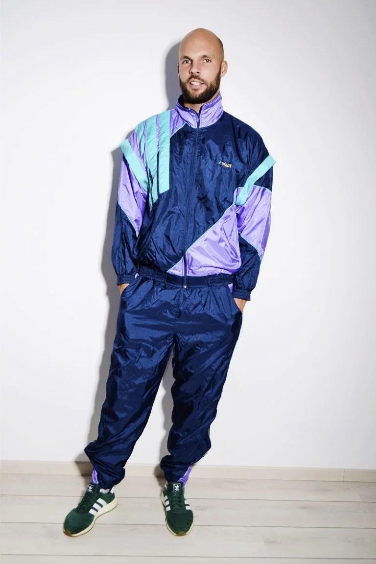 80s retro festival shell suit | HOT MILK 90's style vintage clothing online