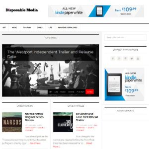 DisposableMediaHomepage