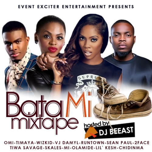 Bata Mi Mixtape Artwork