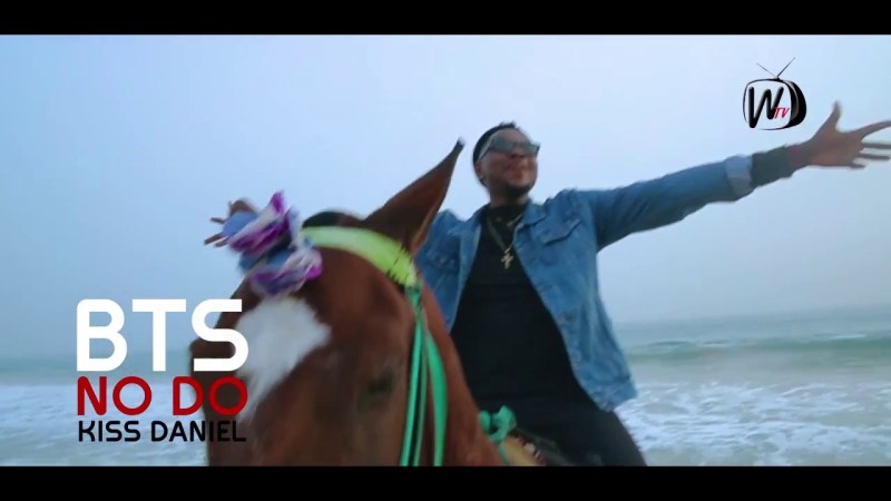 VIDEO: Kiss Daniel - No Do (B-T-S)