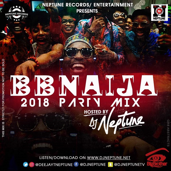 Download Latest Naija Party Mix 2018 by DJ Neptune