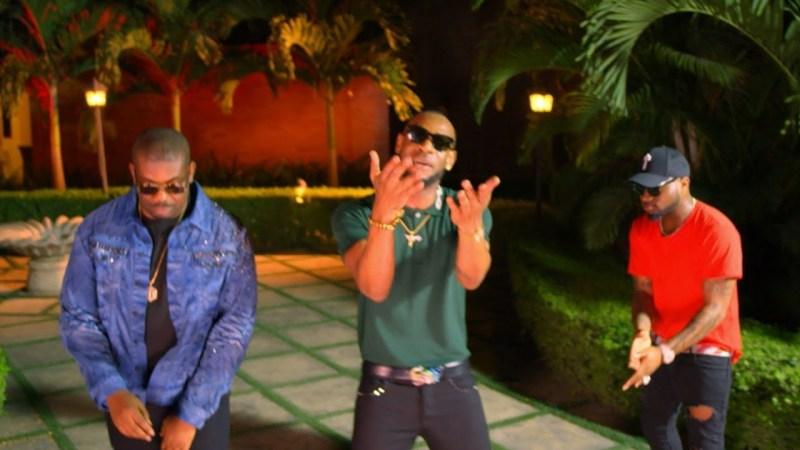 VIDEO D'Prince - Gucci Gang ft Davido & Don Jazzy