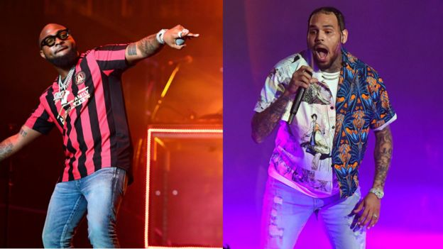 Chris Brown Brings Out Davido