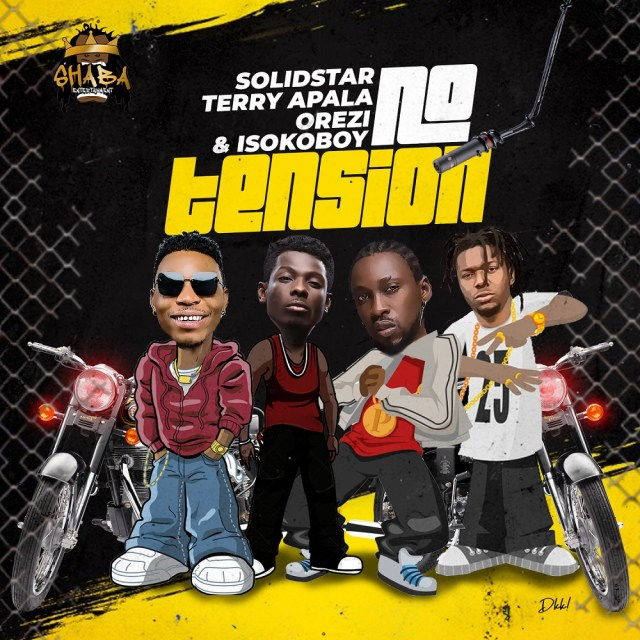 Solidstar - No Tension ft. Orezi