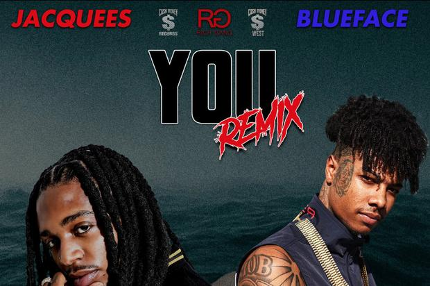 Jacquees Joins The Blueface Hype Train With