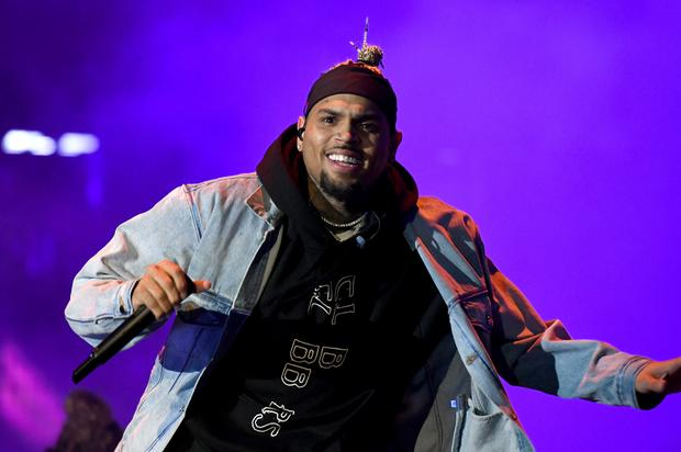 chris brown second baby