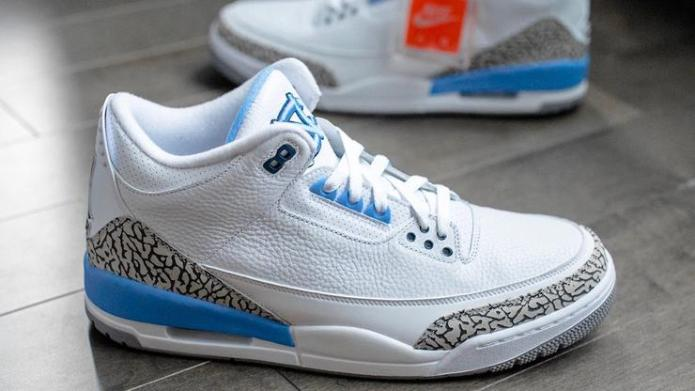 pretty nice 9c2c7 09432 Air Jordan 3 UNC Colorway Rumored To Drop Next Year | The ...