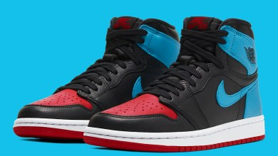 """Photo of The Official Photos of Air Jordan 1 High OG """"UNC To CHI"""" Released"""