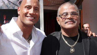 """Photo of Dwayne """"The Rock"""" Johnson's Father, Rocky Johnson, Passes Away At 75"""