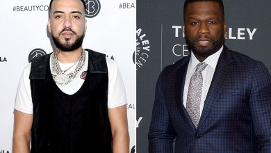 Photo of French Montana Trolls 50 Cent With Eminem Kiss Photo