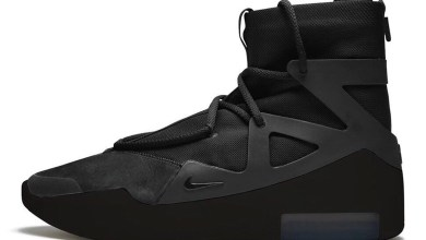 "Photo of Nike Air Fear Of God 1 ""Triple Black"" to be released Valentine's Day"