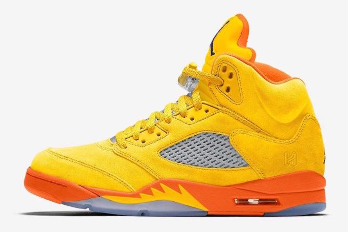 "Air Jordan 5 ""Solar Orange"" Release Date and Photos"