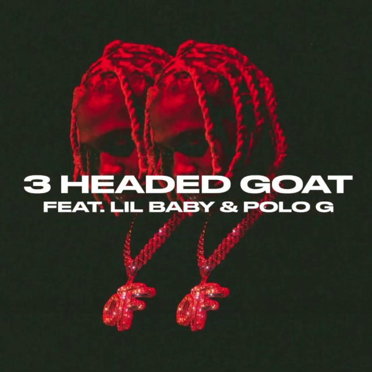 Lil Dirk 3 headed Goat