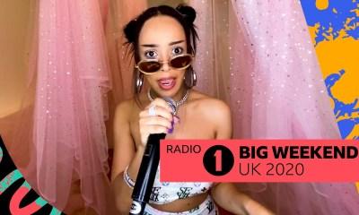 "Doja Cat Performs ""Say So"" On BBC Radio 1"