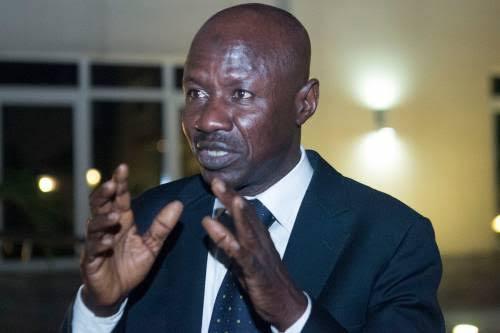 EFCC Acting Chairman Ibrahim Magu Arrested