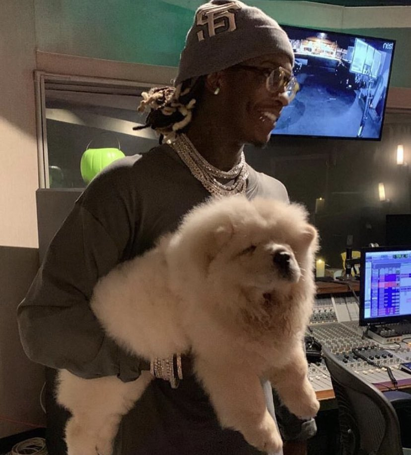 Young Thug's Lovely Dog Ms. Tootie Has Died